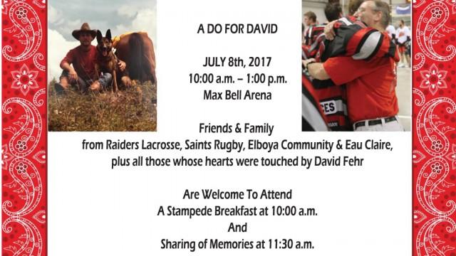 A Do For David
